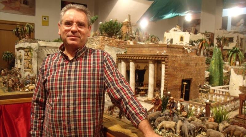Melchor Almela, un artista apasionado por los belenes