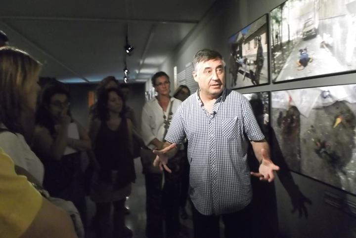 Gervasio Sánchez, fotoperiodista.