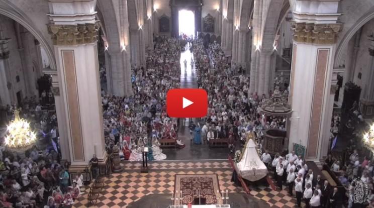Misa rociera Catedral Valencia1