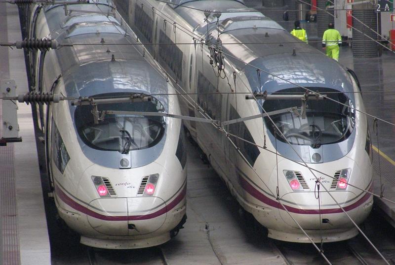 España tiene un excelente sistema ferroviario.