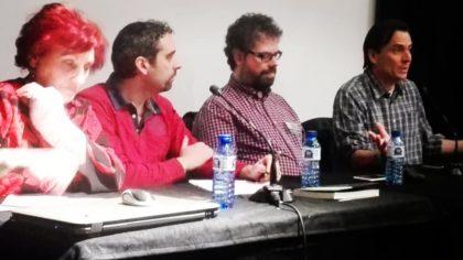 Isabel Barceló, Antonio Penadés, Sergio del Molino y Alejandro Lillo.