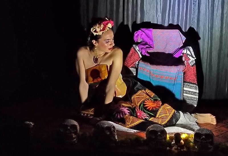 La actriz colombiana Maryory Montoya en el papel de Frida.