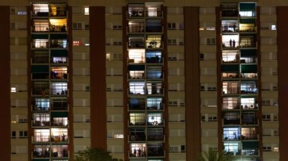 Los balcones en el confinamiento