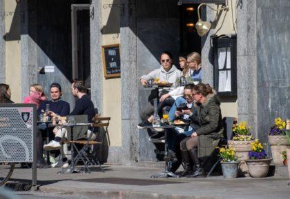 Los suecos ante el coronavirus